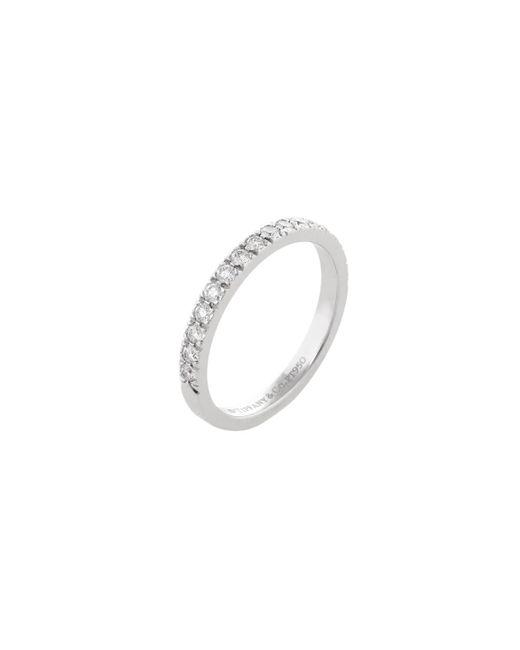 Tiffany & Co - Metallic Vintage Platinum & 0.33 Total Ct. Diamond Novo Ring - Lyst