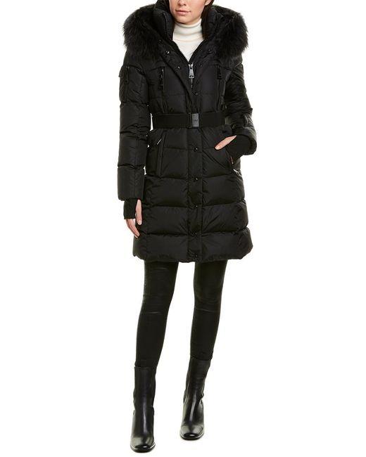 Sam. Black Millennium Matte Coat