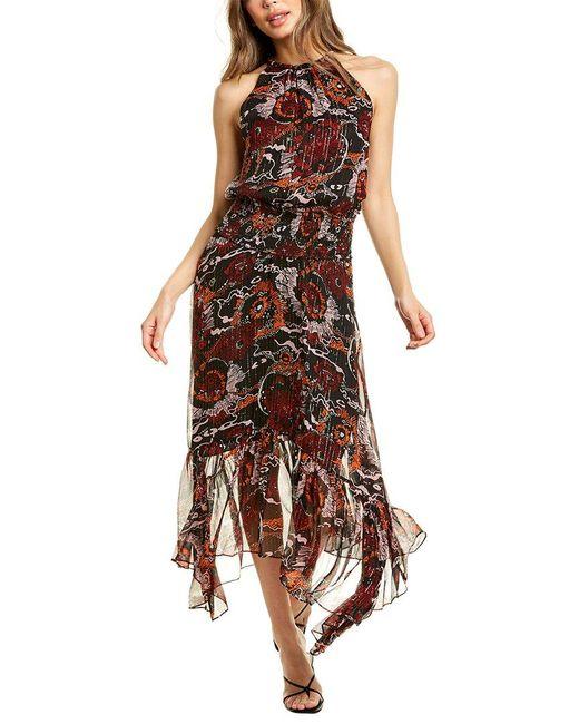 A.L.C. Black Bardot Maxi Dress