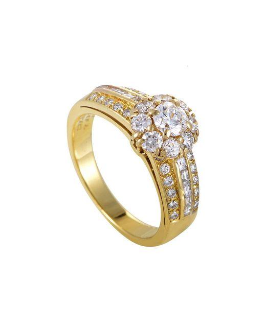 Van Cleef & Arpels Vintage Metallic Van Cleef & Arpels 18k 1.10 Ct. Tw. Diamond Ring