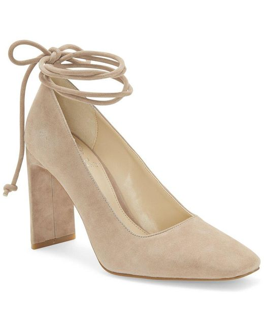 Vince Camuto Natural Damell Leather Pump