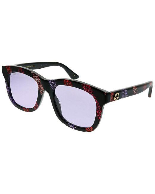Gucci Black GG0326S 52mm Sunglasses