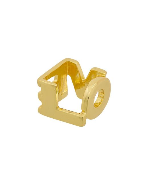 Kenneth Jay Lane Yellow 22k Electroplated Ring