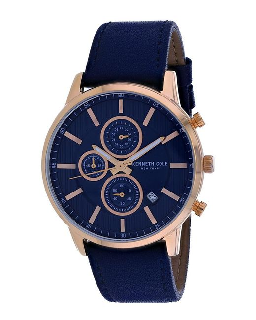 Kenneth Cole Blue Classic Watch for men