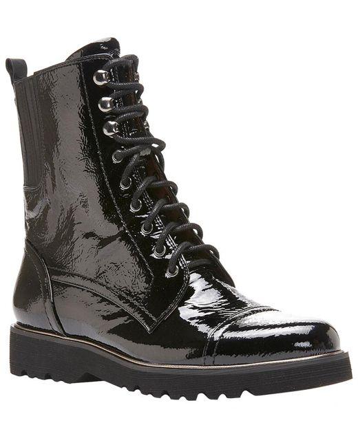 Donald J Pliner Black Camren Patent Boot