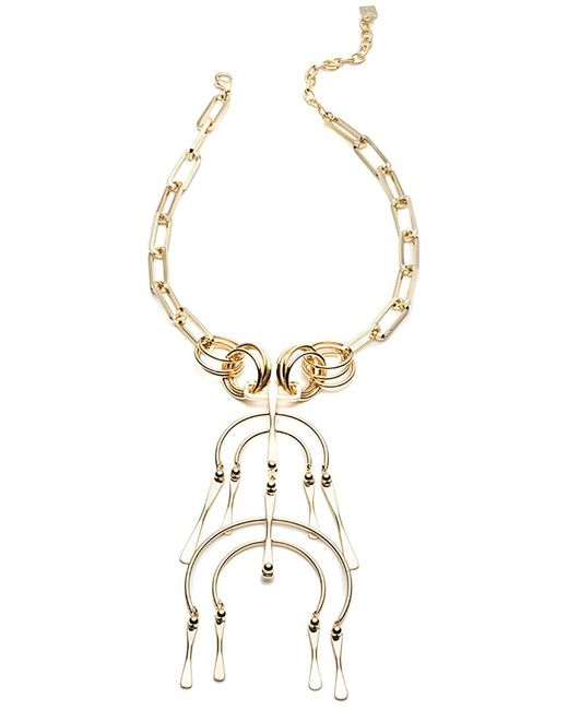 DANNIJO - Metallic 10k Plated Necklace - Lyst