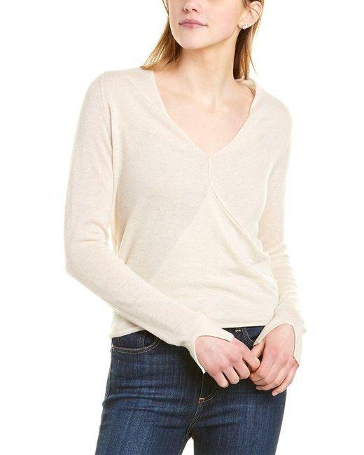 Brochu Walker Multicolor Asta Cashmere Wrap Sweater