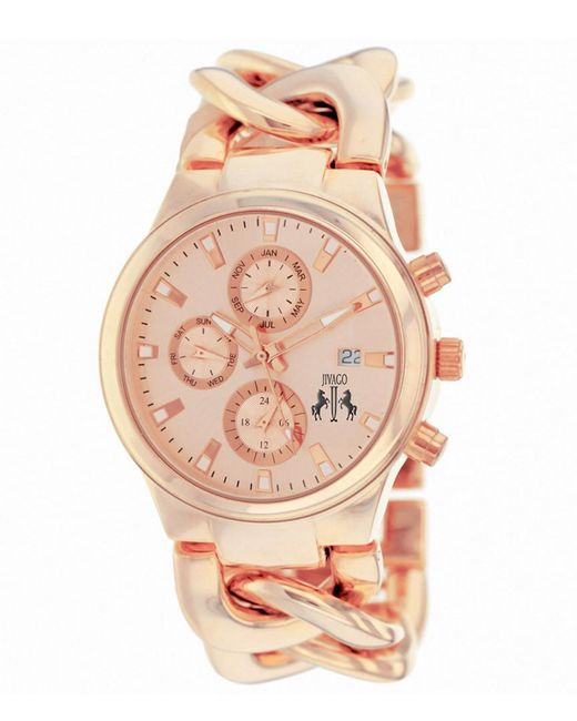 Jivago - Pink Women's Lev Watch - Lyst