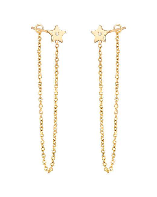 Ariana Rabbani Metallic 14k Diamond Earrings