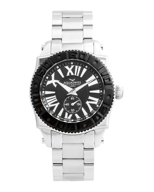 Aquaswiss Metallic Unisex Swissport Gs Watch