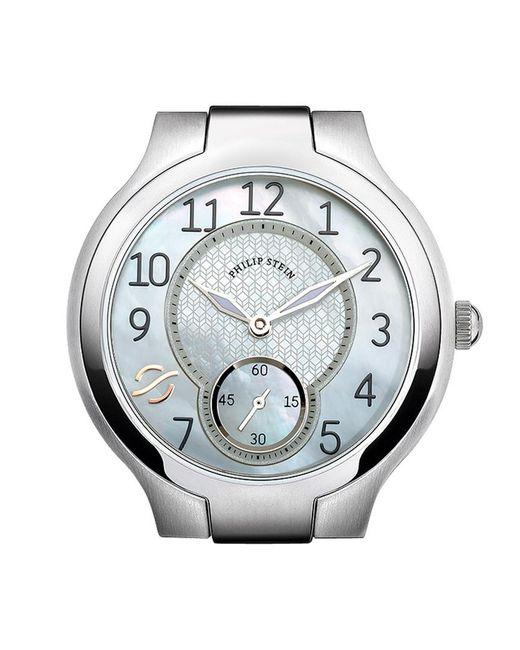 Philip Stein Metallic Stainless Steel Watch Case - Small