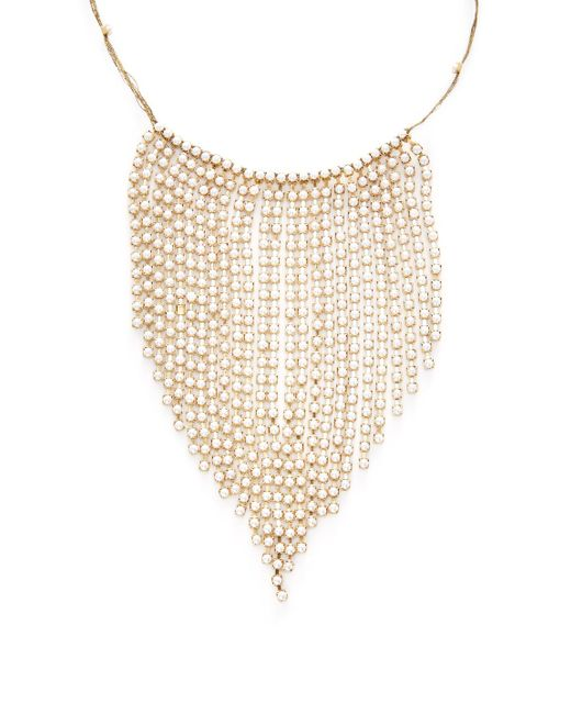 Marc Jacobs - Metallic Pearl River Statement Necklace - Lyst