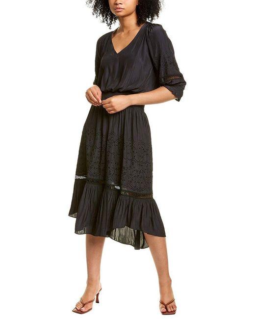 Ramy Brook Black Tanya Dress