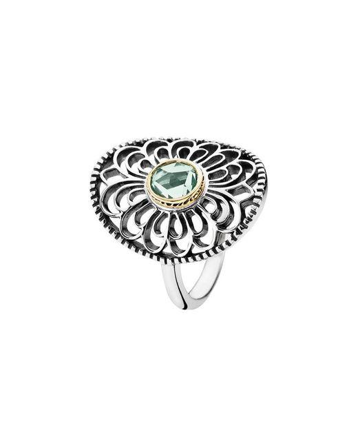 Pandora Metallic Vintage Allure 14k & Silver Ring