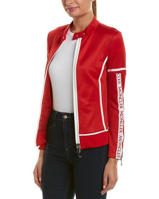 Moncler Red Sweatshirt Jacket