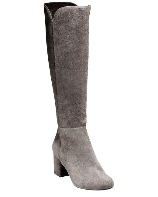 Cole Haan Gray Denise Suede Boot