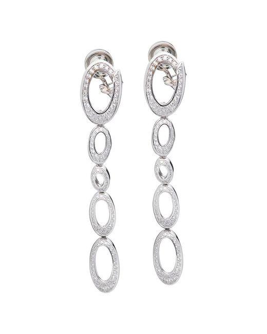 Chopard Metallic 18k 1.54 Ct. Tw. Diamond Earrings