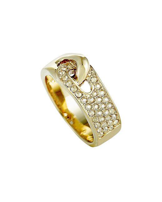 Swarovski Metallic Crystal Plated Ring