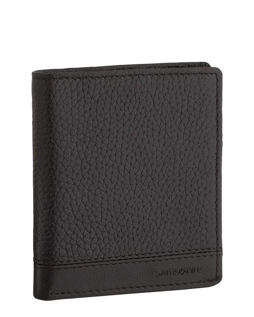 Samsonite Black Serene Rfid 2-fold Id Wallet for men