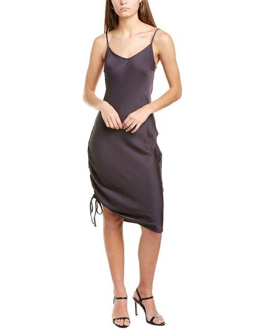 Nation Ltd Black Mira Slip Dress