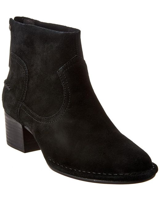 Ugg Black Bandara Suede Ankle Boot