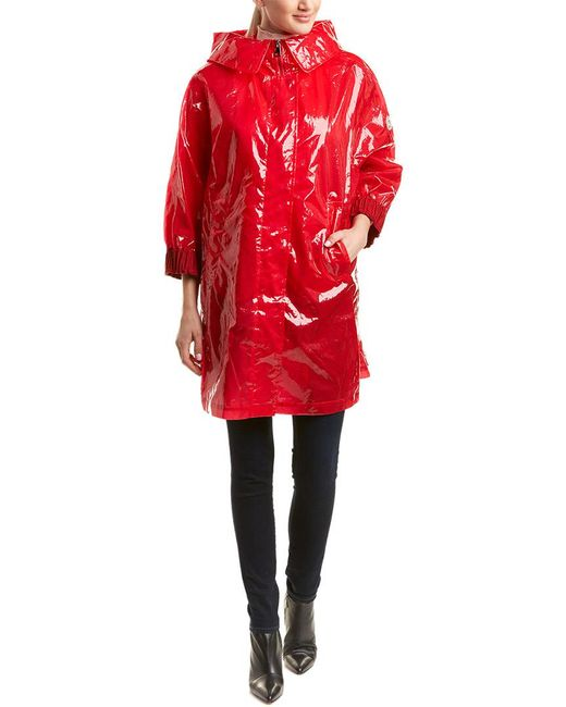Moncler - Red Astrophy Coat - Lyst