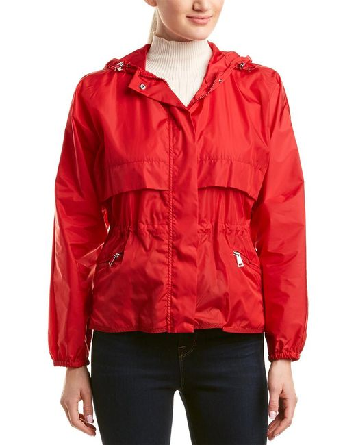 Moncler Red Jais Jacket