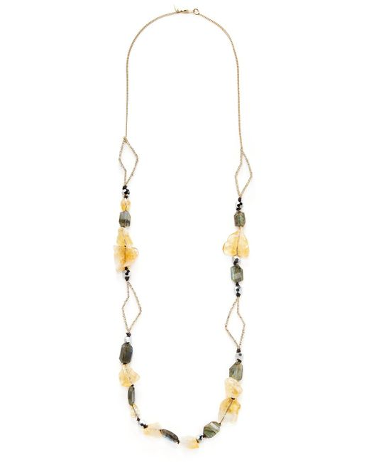 Alexis Bittar - Multicolor Elements Encrusted Abstract Petal Strand Statement Necklace - Lyst