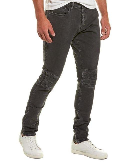 PRPS Gray Festival Grey Low-rise Tapered Skinny Leg for men