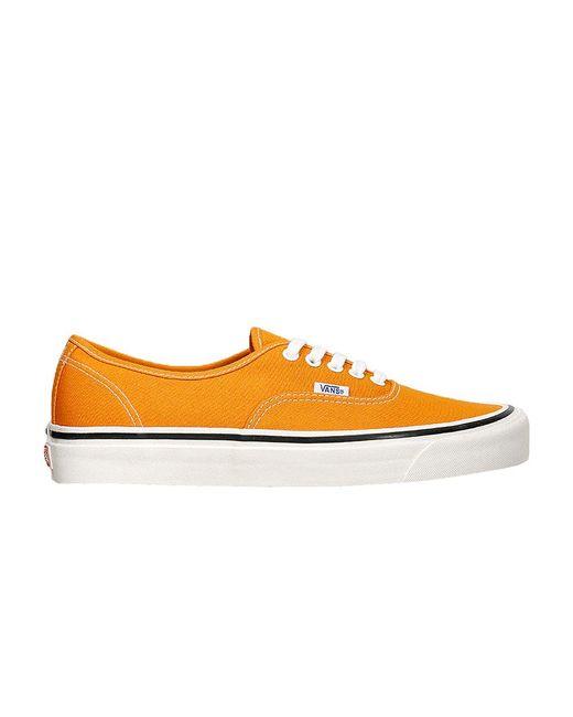 Vans Authentic 33 Dx 'gold Orange' for Men - Lyst