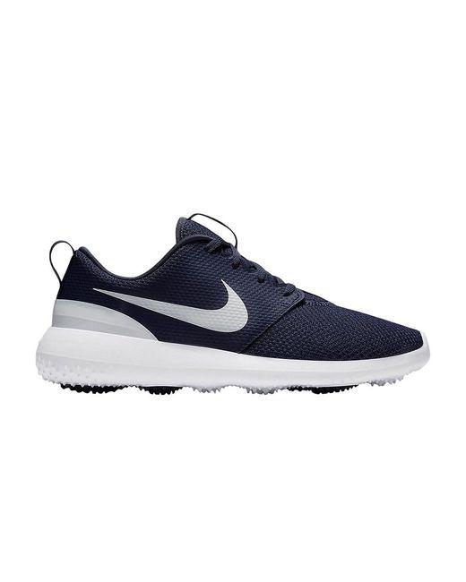 Nike Blue Roshe G Golf Shoe for men