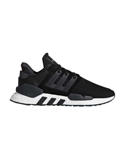 Adidas Black Eqt Support 91/18 Shoes for men