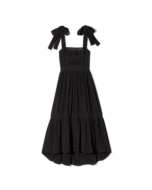 Ulla Johnson | Black Violet Dress | Lyst