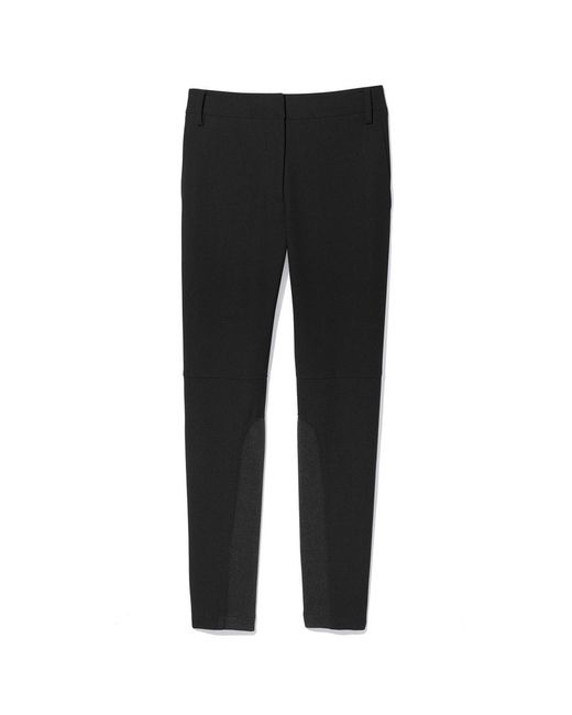 Tibi | Black Anson Stretch Low-rise Skinny Pant | Lyst