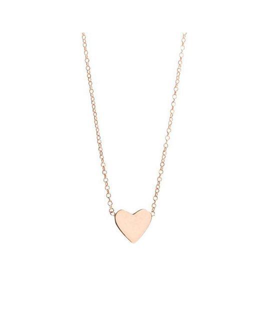 Ariel Gordon - Metallic Heart Necklace - Lyst