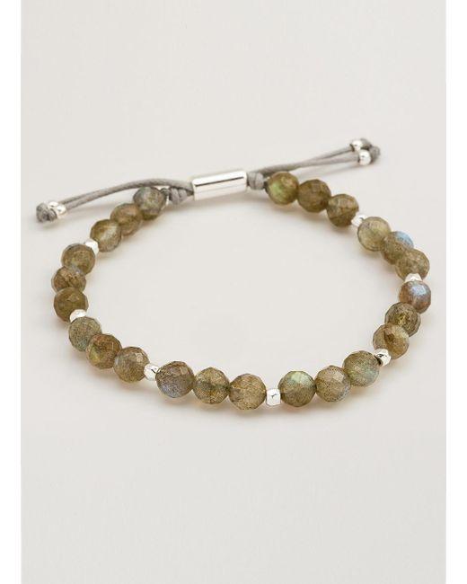 Gorjana & Griffin | Metallic Power Gemstone Labradorite Beaded Bracelet For Balance | Lyst