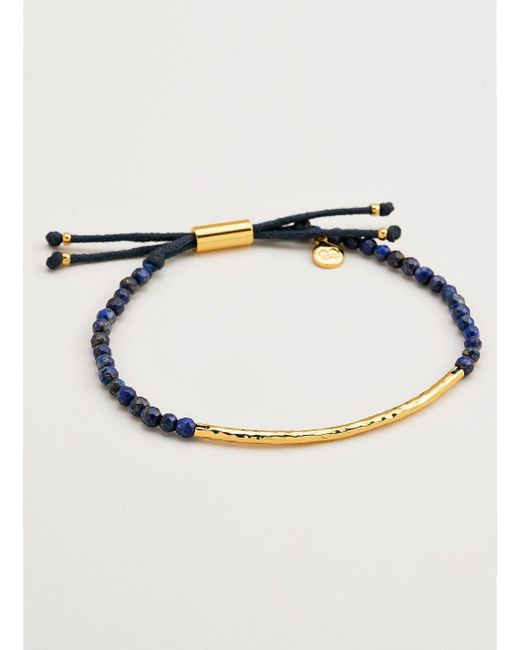 Gorjana & Griffin - Metallic Power Gemstone Lapis Bracelet For Wisdom - Lyst