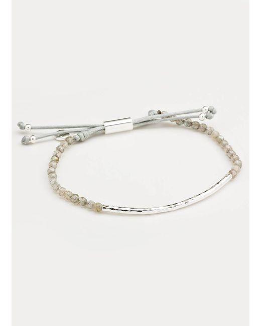 Gorjana & Griffin | Metallic Power Gemstone Labradorite Bracelet For Balance | Lyst