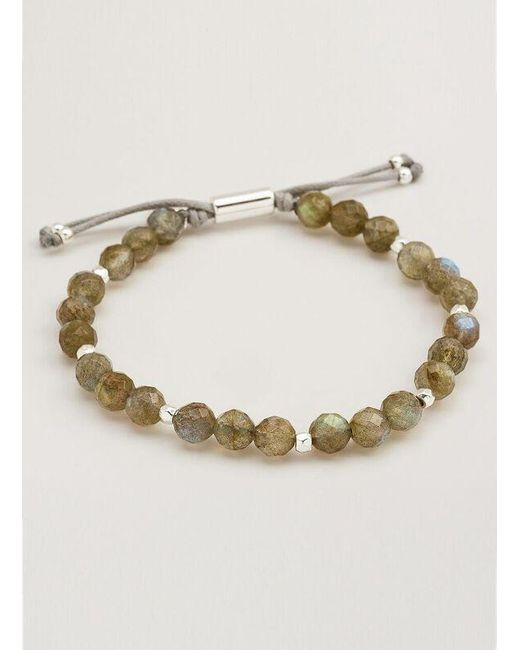 Gorjana & Griffin | Multicolor Power Gemstone Labradorite Beaded Bracelet For Balance | Lyst
