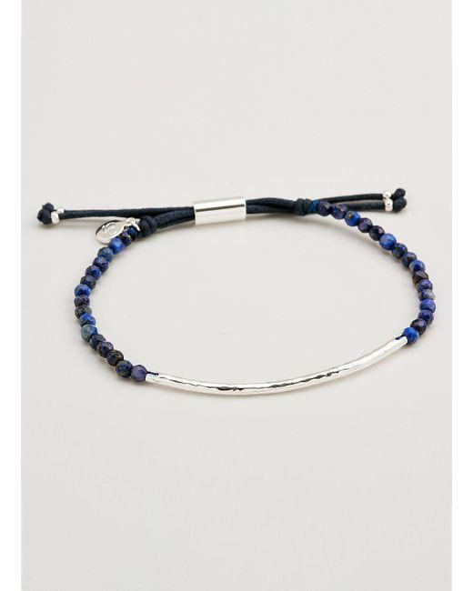 Gorjana & Griffin | Metallic Power Gemstone Lapis Bracelet For Wisdom | Lyst