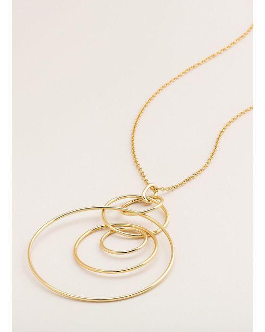 Gorjana & Griffin - Metallic Wilshire Pendant Adjustable Necklace - Lyst