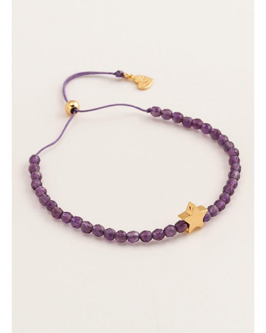 Gorjana & Griffin - Metallic Mini + Me Power Gemstone Star Bracelet For Tranquility - Adult - Lyst