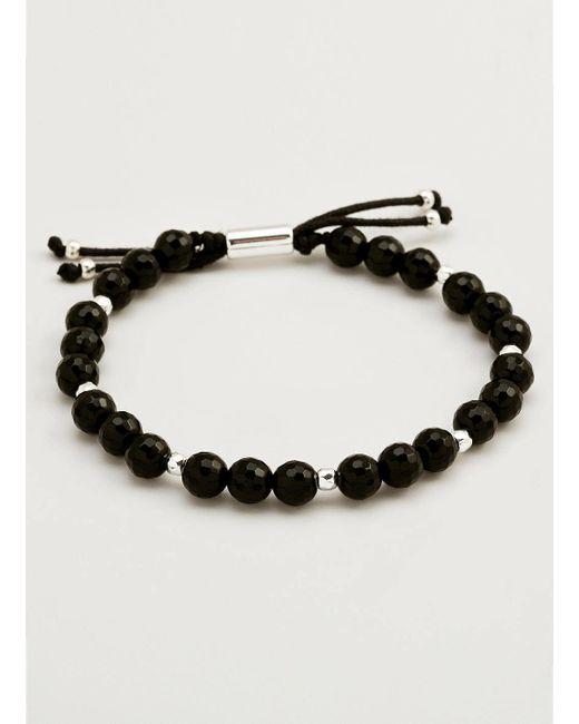Gorjana & Griffin | Metallic Power Gemstone Black Onyx Beaded Bracelet For Protection | Lyst