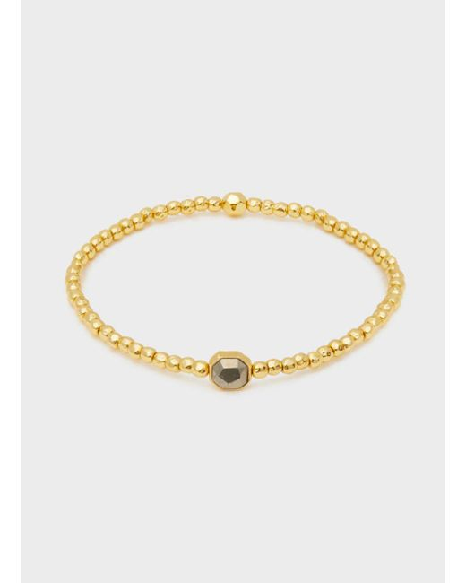 Gorjana & Griffin - Metallic Power Gemstone Charm Bracelet For Strength - Lyst