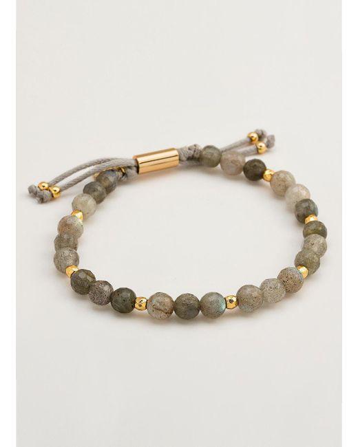 Gorjana & Griffin - Metallic Power Gemstone Labradorite Beaded Bracelet For Balance - Lyst