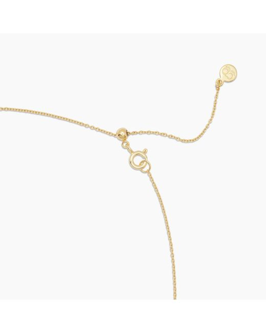 Gorjana Metallic Sunburst Coin Necklace
