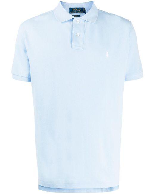 Polo classic-fit di Ralph Lauren in Blue da Uomo