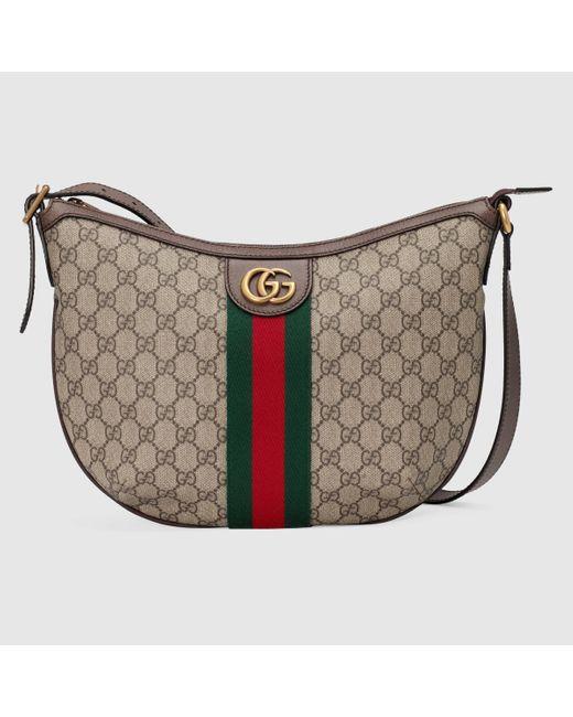 Gucci 【公式】 (グッチ)〔オフィディア〕GGスモール ショルダーバッグソフト GGスプリームベージュ Natural