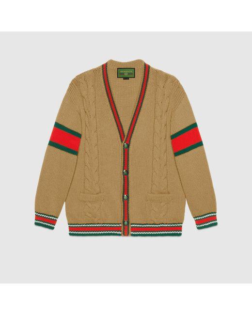 Gucci グッチdiy ユニセックス ウール カーディガン Multicolor
