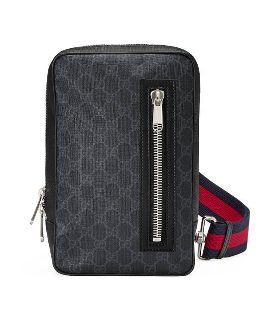 Gucci GG Black Belt Bag for men